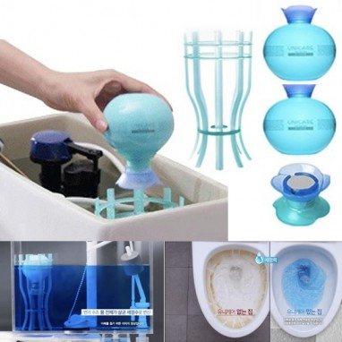 Unicare 殺菌除臭潔廁球套裝 (1套2個) /補充裝