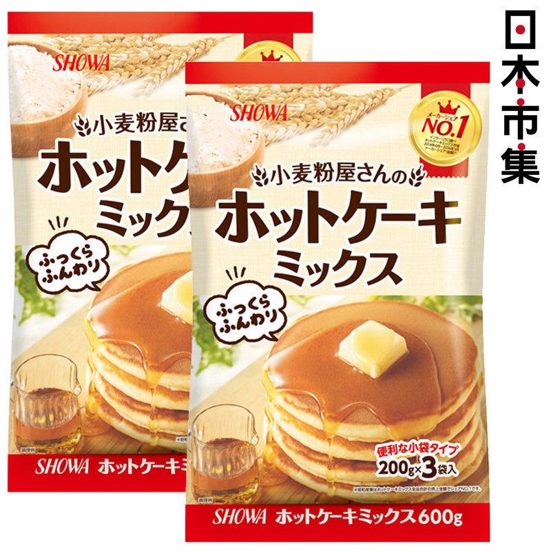 日版 昭和産業 熱香餅 班戟粉 200g x3包 (2件裝)【市集世界 - 日本市集】