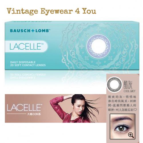 博士倫LACELLE COLORS 1-DAY 大眼CON 酷灰 Cool Grey 10片散裝隱形眼鏡