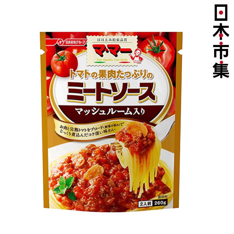 日版日清蕃茄蘑菇大量肉醬意粉醬 2人前【市集世界 - 日本市集】
