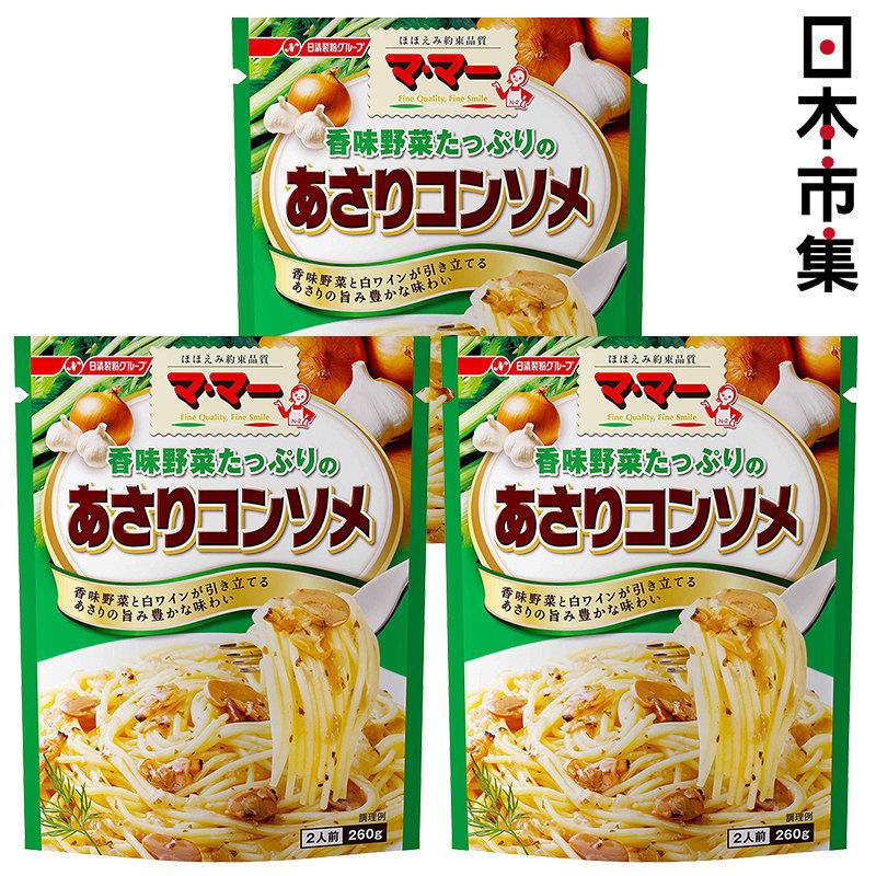 日版日清蔥蒜蜆肉意粉醬 2人前 (3件裝)【市集世界 - 日本市集】