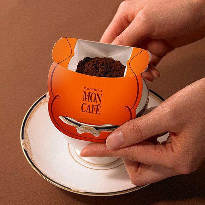 日版 Moncafe 掛濾滴流式 京都式深烘焙咖啡 (10件)【市集世界 - 日本市集】
