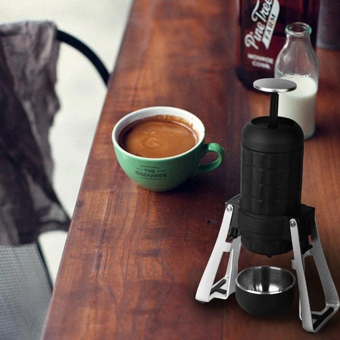 第三代STARESSO MIRAGE SP-300 免插電折疊式便攜咖啡機