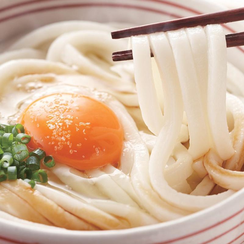 日本 70年工藝 赤城食品 烏冬麵條 (8束,可再封口包裝) 640g (2件裝)【市集世界 - 日本市集】