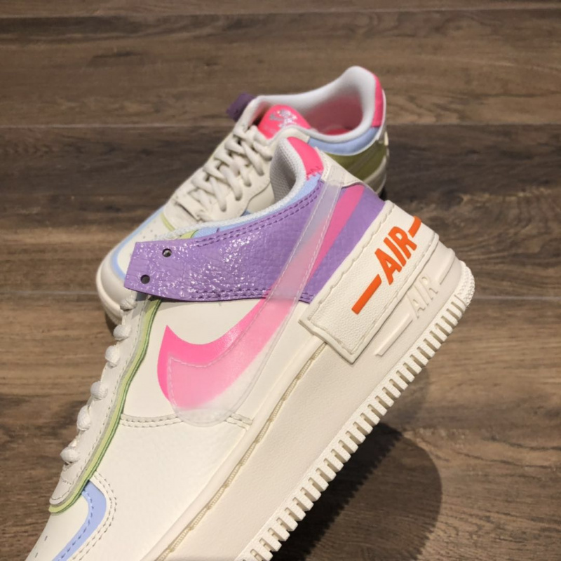 NIKE AIR FORCE 1 SHADOW BEIGE WMNS [女裝鞋]