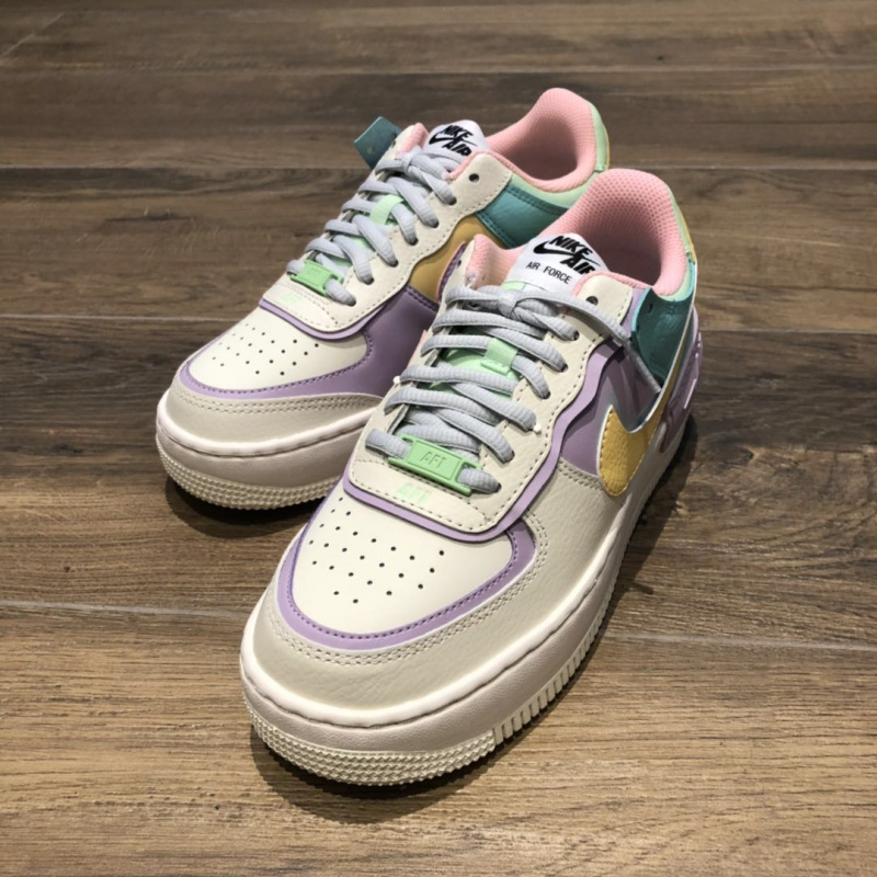 NIKE AIR FORCE 1 SHADOW PALE IVORY WMNS [女裝鞋]