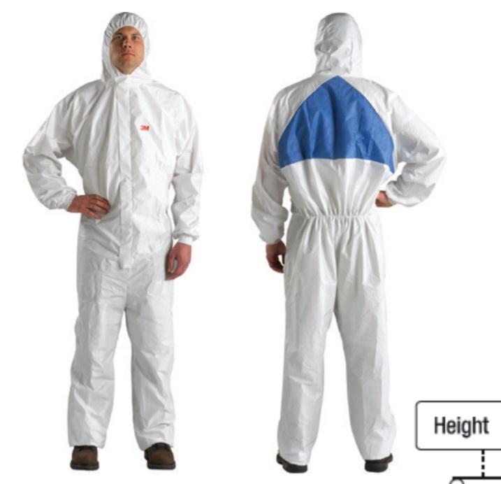 3M 防護衣 4540+