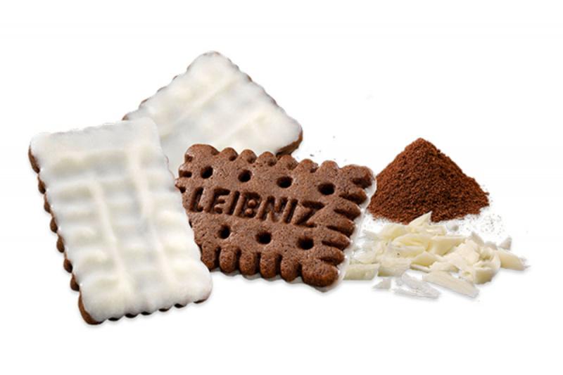 德國Leibniz 迷你黑白朱古力夾心餅乾125g【市集世界 - 德國市集】