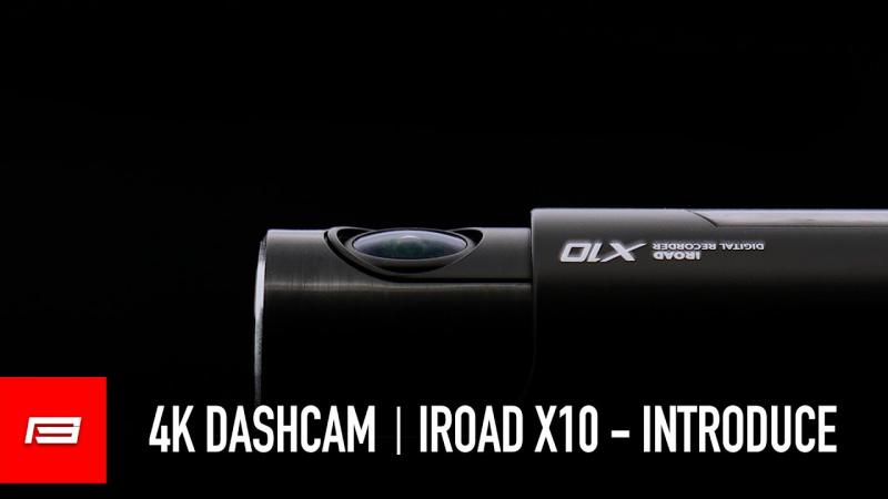 IROAD 4K UHD 行車記錄儀 X10