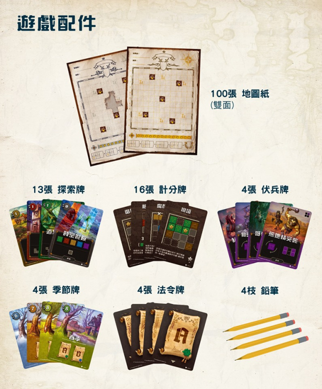 王國製圖師 - Cartographers: A Roll Player Tale