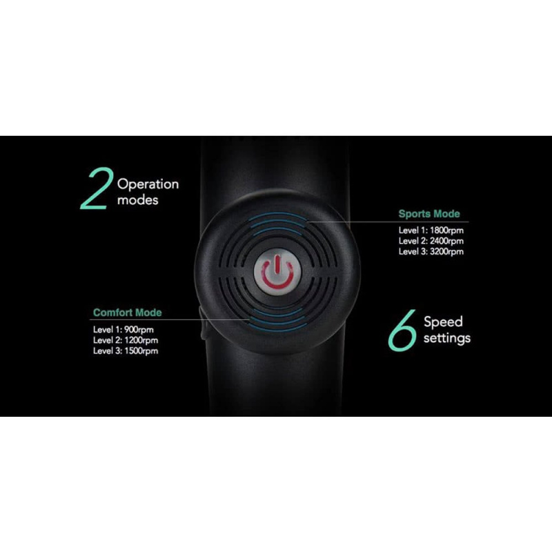 ELEEELS 深層肌肉按摩槍 Massage Device X1T 【現凡購買即送 ILOJE 韓國製70%酒精免洗搓手液】