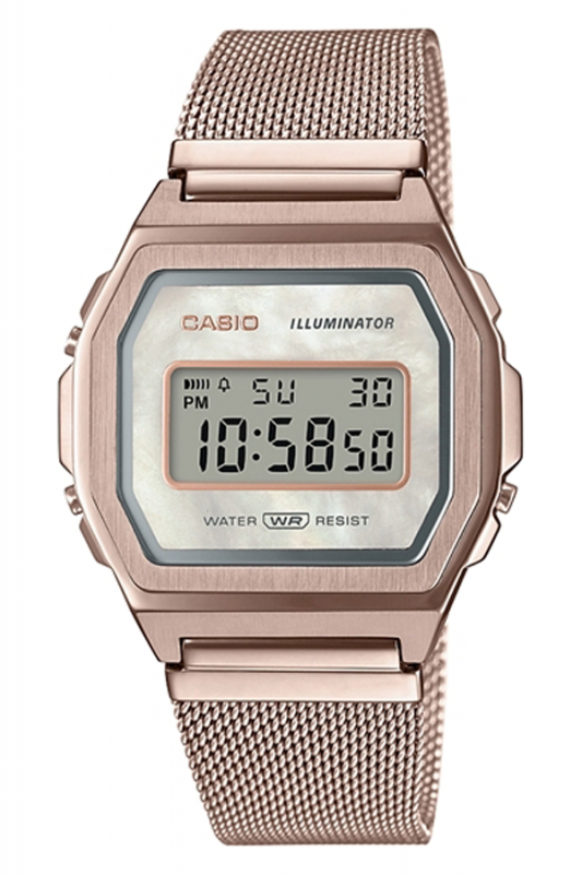 Casio Vintage Iconic Collection 珍珠母不鏽鋼系列手錶 [3色]