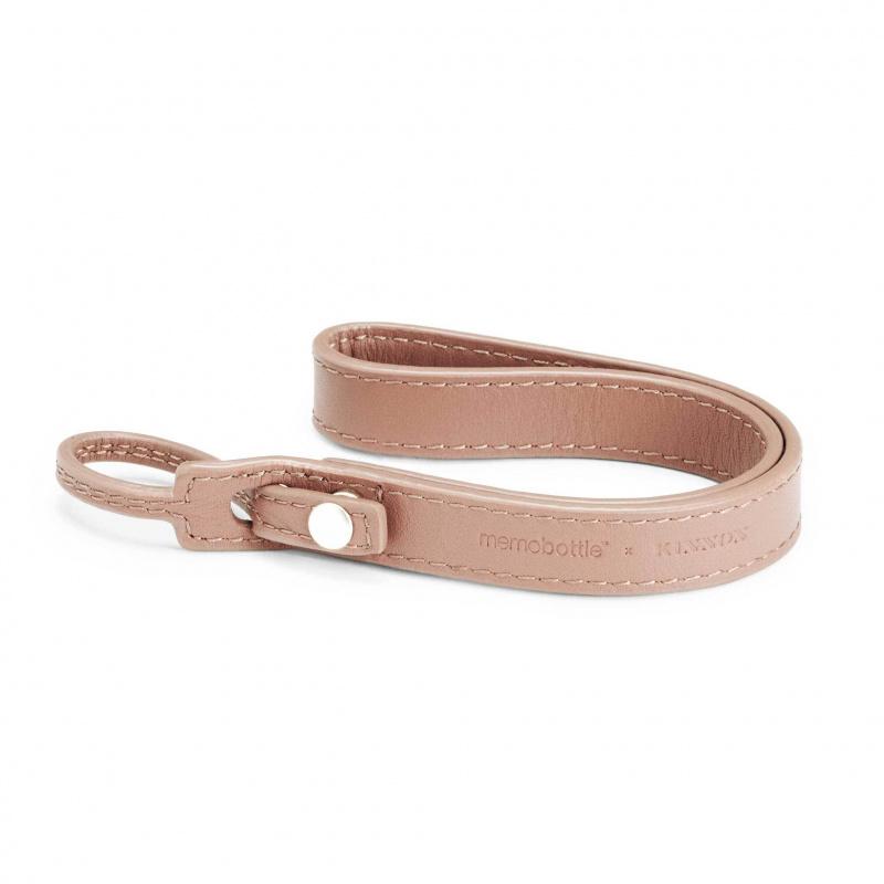 Memobottle - 皮革掛繩-粉色 (不包含水樽)