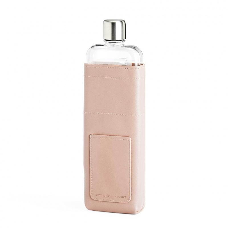 Memobottle - Slim 水樽皮革套 粉紅色 (不包含水樽)