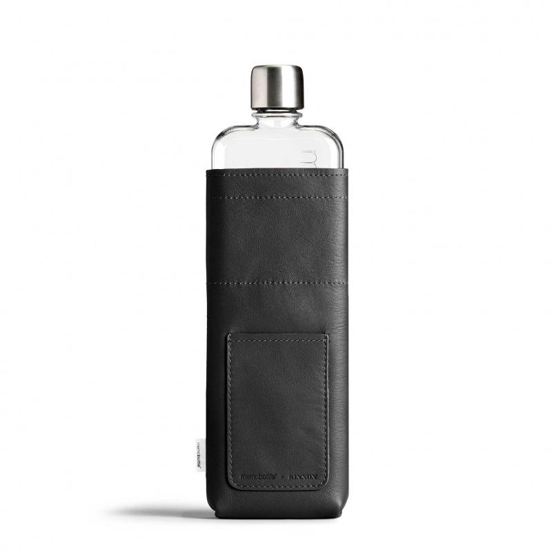 Memobottle - Slim 水樽皮革套 黑色 (不包含水樽)