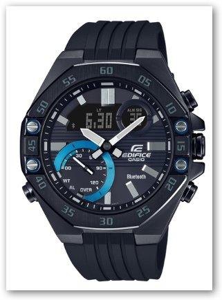 Casio EDIFICE Speed & Intelligence 賽車系列 #ECB-10 [5色]