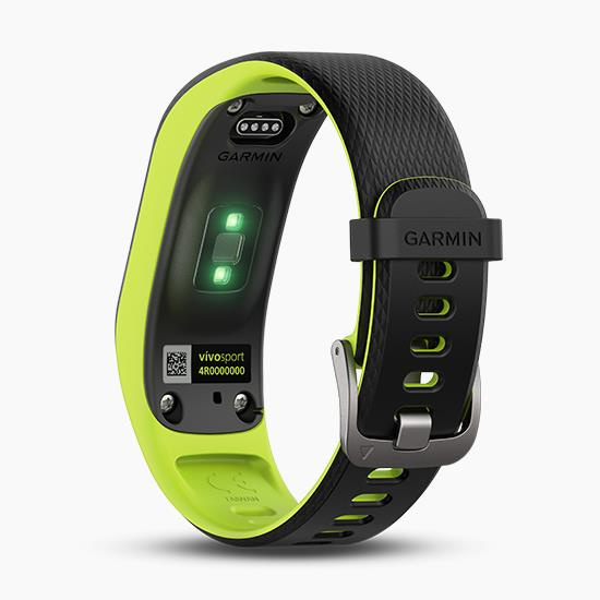 Garmin Vivosport GPS 智慧健康心率手環 (中文版) [萊姆綠(大)]