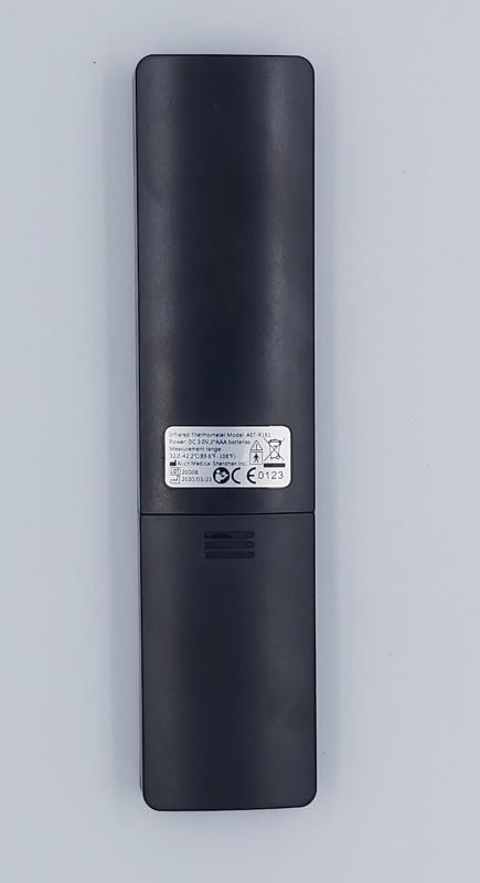 BBLOVE 鋼琴黑流線型LED額溫計