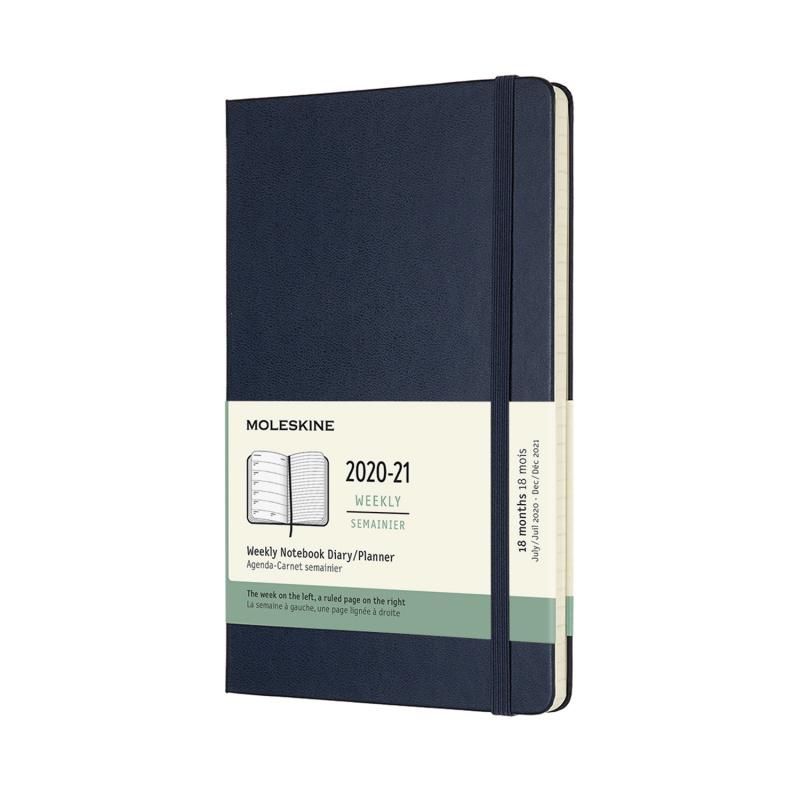 Moleskine 18個月經典週記手帳2020-2021 [6款]
