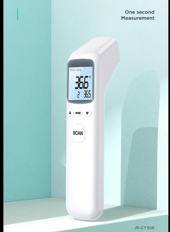 🇺🇸Joyroom JR-CY306💥 非接觸式 1秒額頭快速檢測 發燒提示 多重ROHS,CE,FC等認證 Non Contact Infrared Thermometer 醫護推介👨⚕️