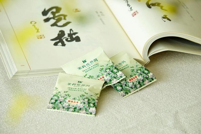 【瀾滄古茶】茶媽媽花式普洱茶:玫瑰花、菊花普洱+熟茶,茉莉花、古樹花+生茶/6g 小包 x18小包 /HK$120