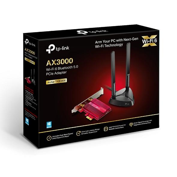 TP-Link Archer TX3000E AX3000 Wi-Fi 6 藍牙 5.0 PCIe 無線網路卡