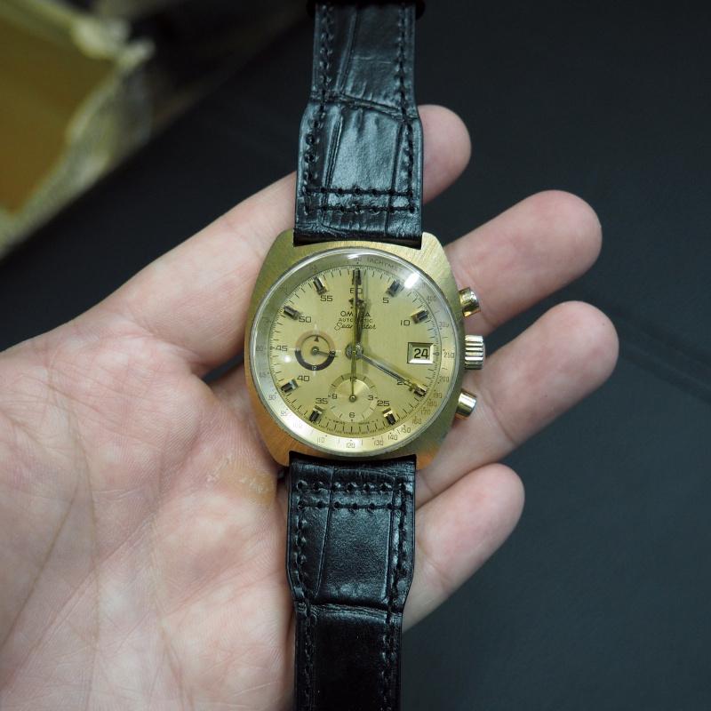 20mm, 21mm, 22mm IWC 黑色鱷魚紋牛皮錶帶