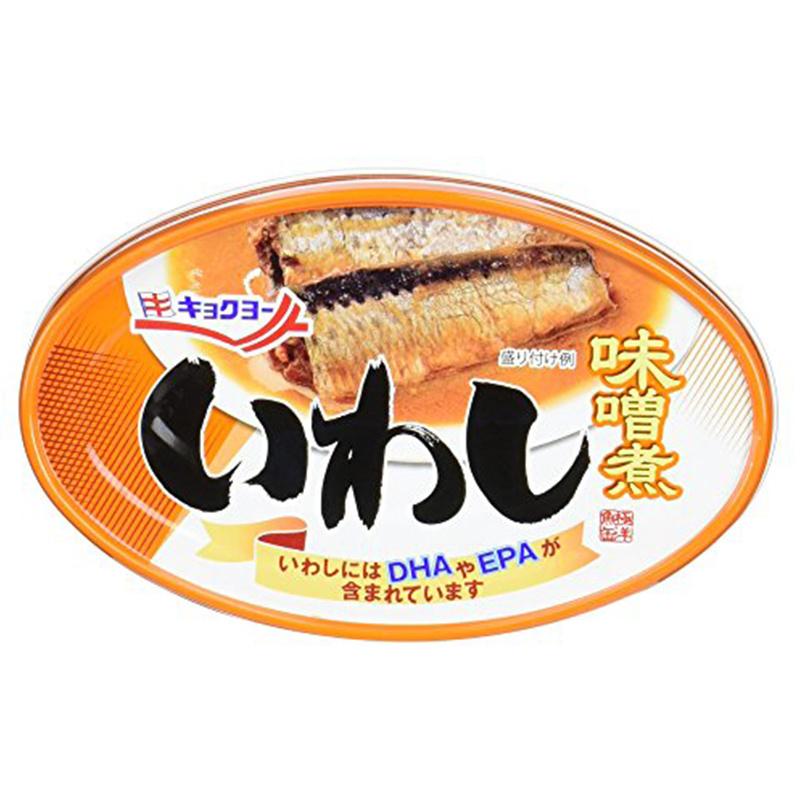 日本極洋 味噌煮 沙甸魚罐頭 70g【市集世界 - 日本市集】