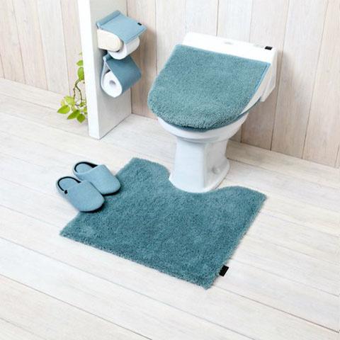YOKOZUNA CREATION - 柔軟毛毛廁所地毯 55 x 60 cm