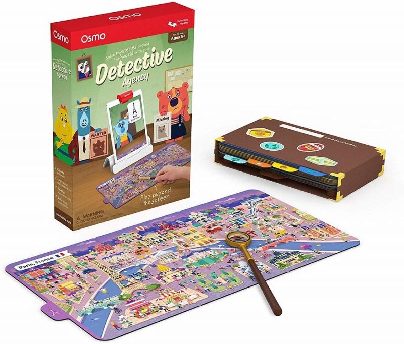 Osmo Detective Agency 偵探社遊戲
