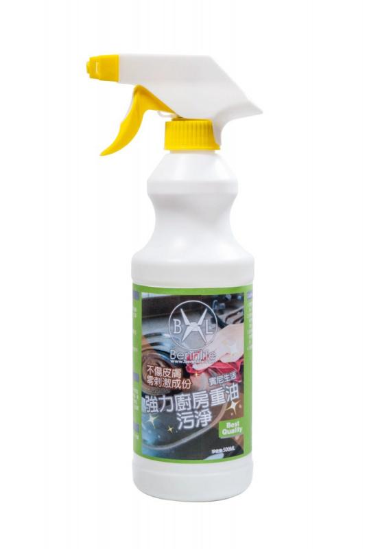 Bennlife 賓尼生活 強力廚房重油清潔劑 抽油煙機清洗劑強力廚房重油去油污