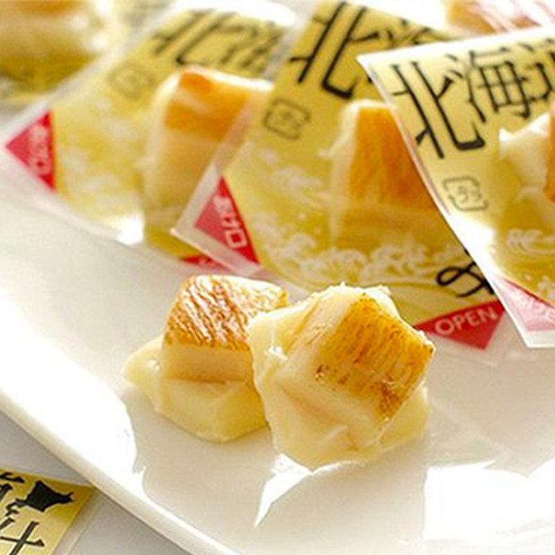 日本【山榮食品】北海道 獨立包裝 一口煙燻芝士魷魚 120g【市集世界 - 日本市集】