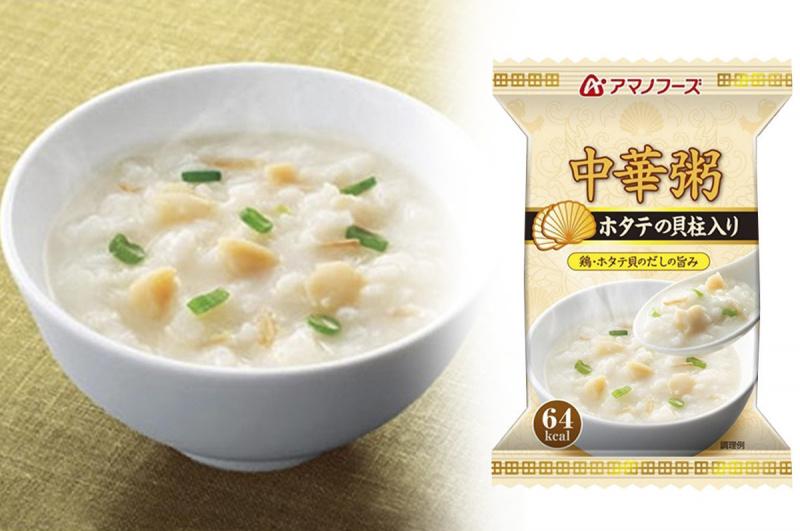 日本【天野食品】扇貝 中華粥 (4包裝)【市集世界 - 日本市集】