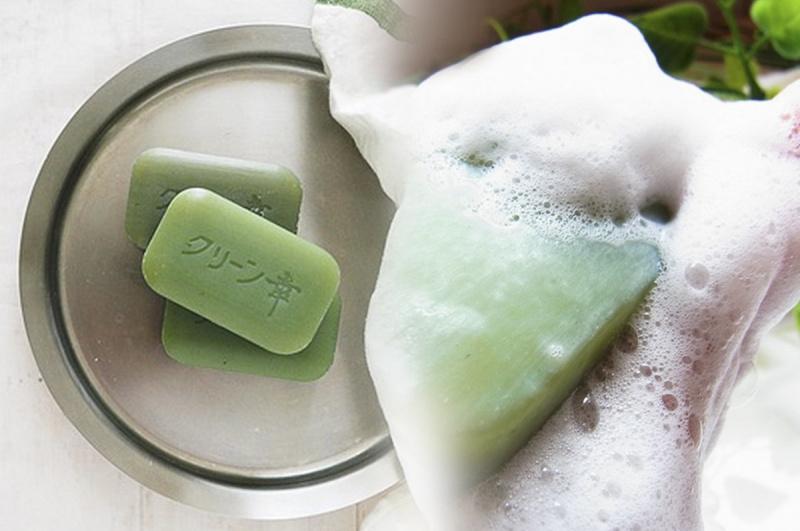 日本【地の塩社】天然艾草 保濕滋潤肥皂番梘 (4件裝)【市集世界 - 日本市集】