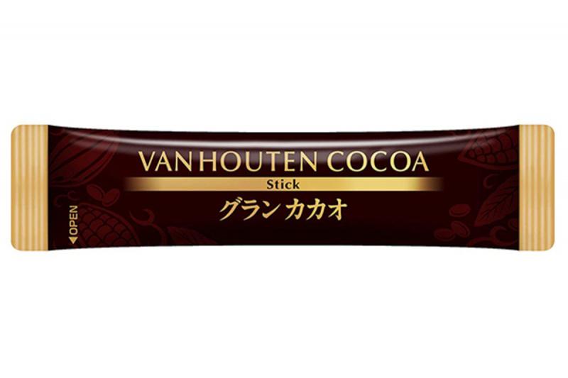 日版 Kataoka Van Houten 即沖 1.8倍特濃朱古力飲品 90g (5包裝)【市集世界 - 日本市集】