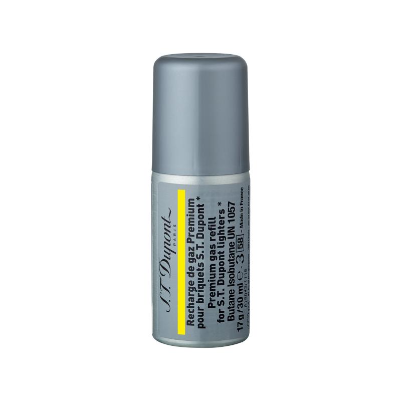 ST Dupont Gas 黃色充氣罐 #000432 適用於下列打火機:Ligne 1 small, Ligne 2, Long table lighter ( 購買前 請先Whatsapp:94966959查詢庫存 )