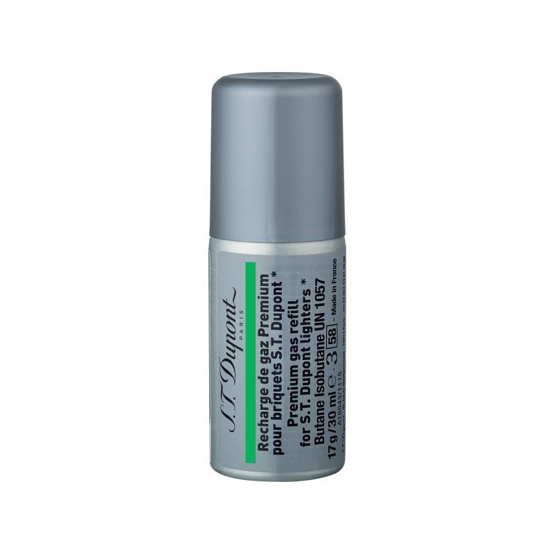 ST Dupont Gas 綠色充氣罐 #000433 適用於下列打火機:Ligne 2 small, Gatsby ( 購買前 請先Whatsapp:94966959查詢庫存 )