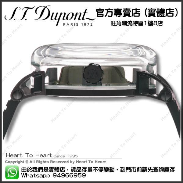 ST Dupont 都彭 官方專賣店 香港行貨 - HYPERDOME WATCH 腕錶 - BE EXTREME - Black, Rubber ( 購買前 請先Whatsapp:94966959查詢庫存 ) model : 065110
