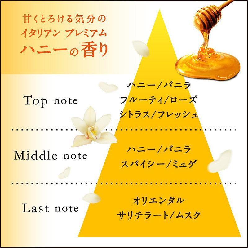 日本 NIVEA 【蜂蜜】濃厚保濕皂香沐浴露 480ml【市集世界 - 日本市集】