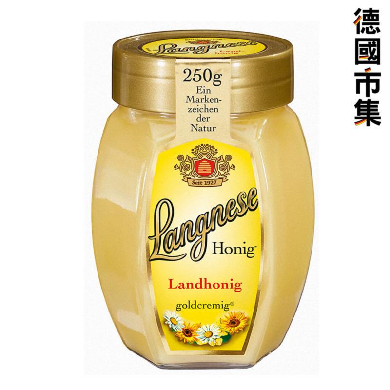 德國版Langnese 德國特濃蜂蜜 250g【市集世界 - 德國市集】