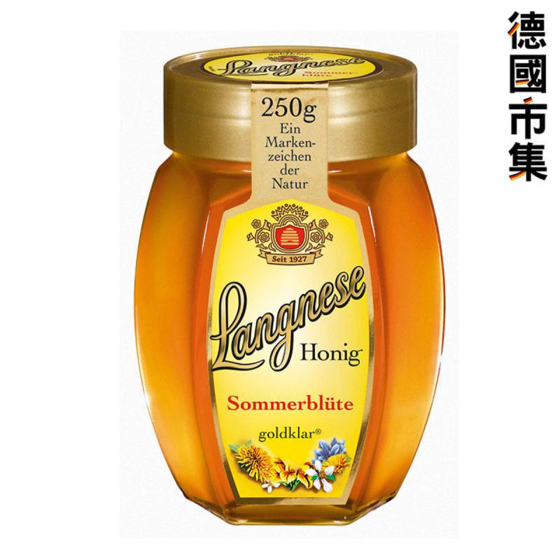 德國版Langnese 德國草原野花蜂蜜 250g【市集世界 - 德國市集】