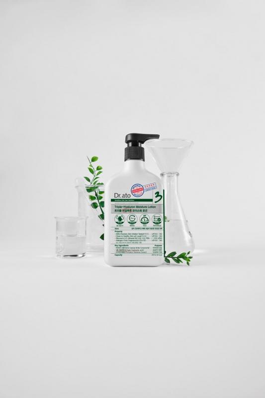 Dr.ato 3號 三重透明質感保濕乳液 350毫升