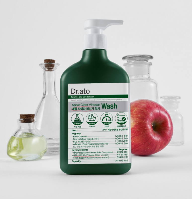 Dr.ato 蘋果醋沐浴露 310毫升