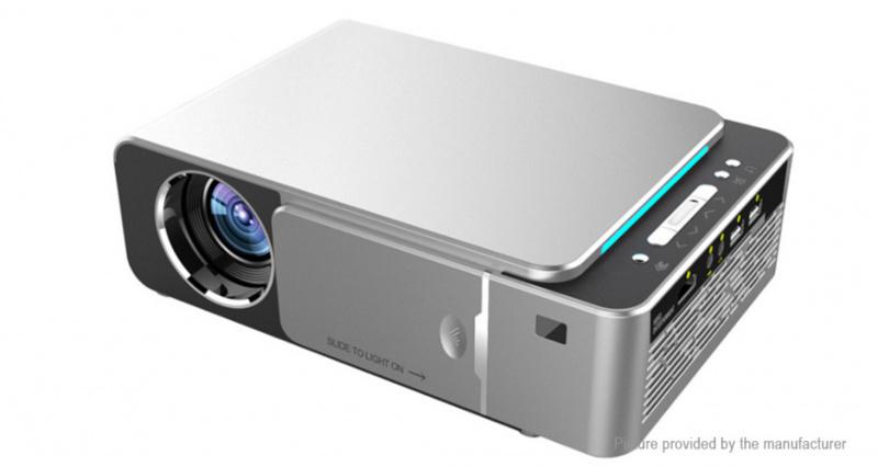 HD LED Projector 1280x720p LCD Mini Projectors Home Cinema HDMI VGA Projector S3006