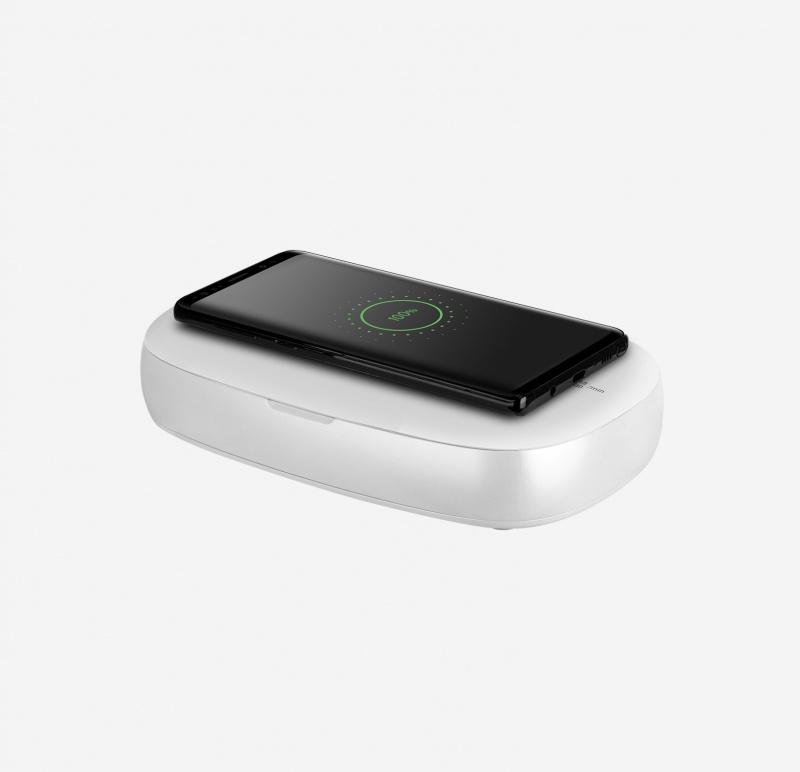 Momax Q.Power UV-Box 無線充電紫外光消毒盒