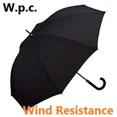 W.P.C. - 方形點(MSA-006) - 日本防風防反防UV半自動長雨傘