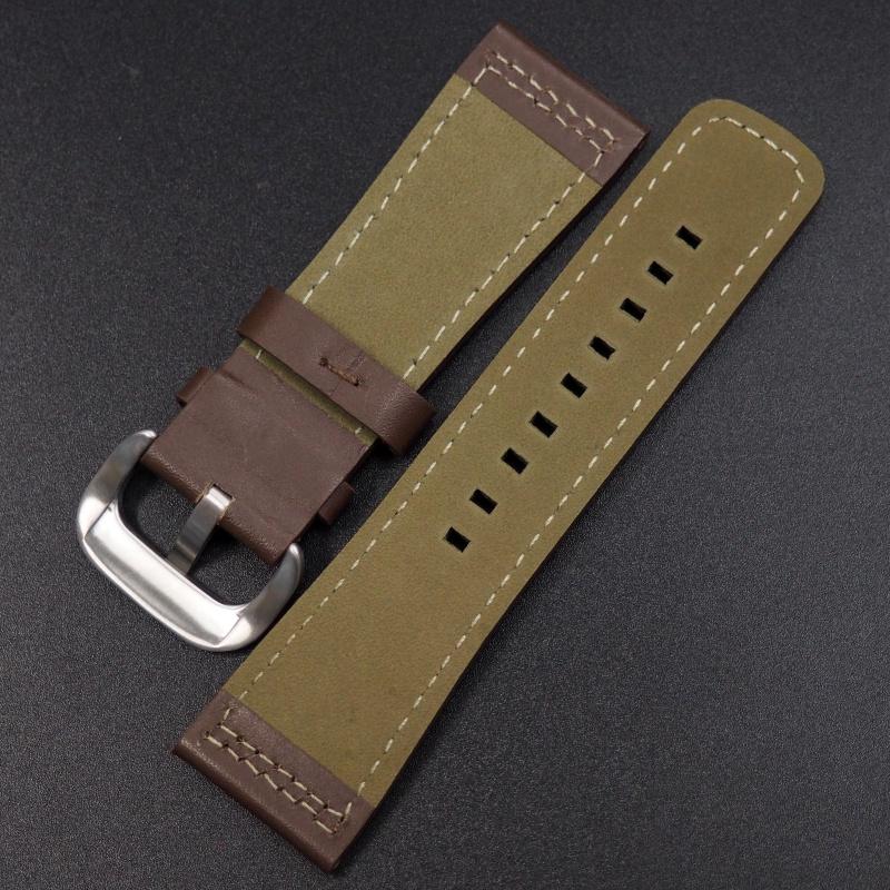 28mm SevenFriday 合桃棕色牛皮錶帶