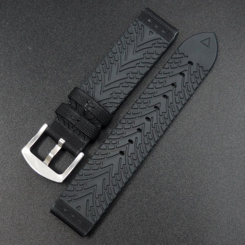 黑色功能性尼龍錶帶