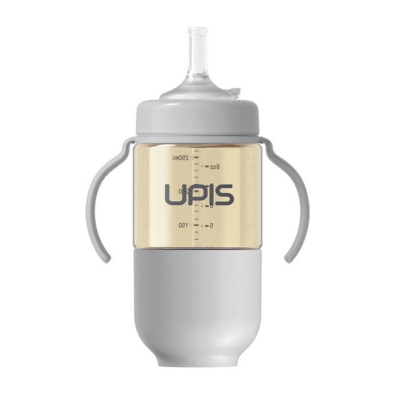 UPIS 高級PPSU吸管水杯 (260ml, 深藍色)