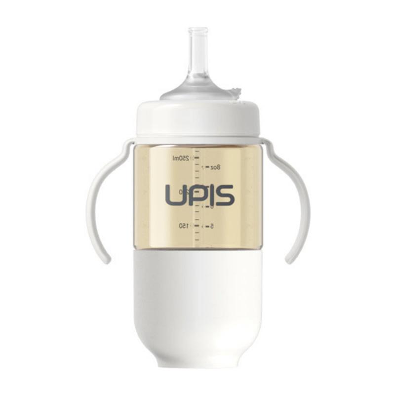 UPIS 高級PPSU吸管水杯 (260ml, 灰色)